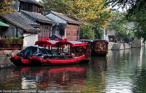 paseo barca Nanxun
