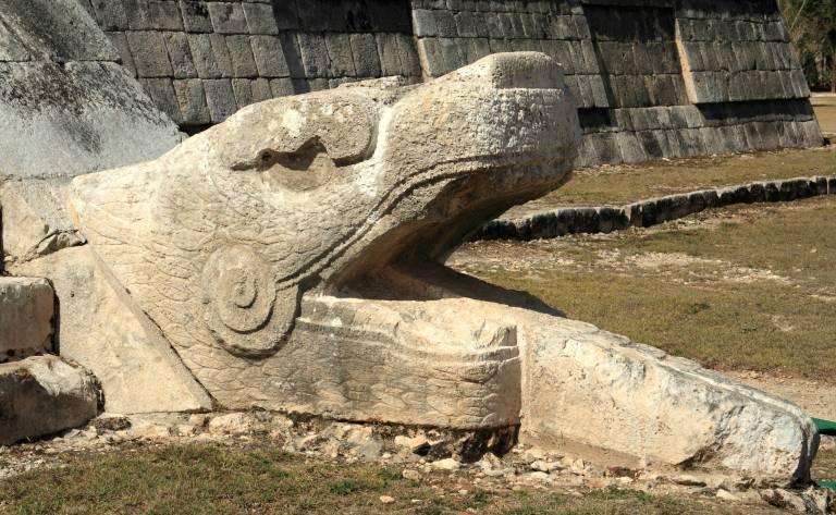 a principal piramide de chichen itza
