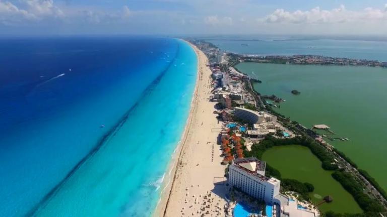 Zona hoteleira Cancun