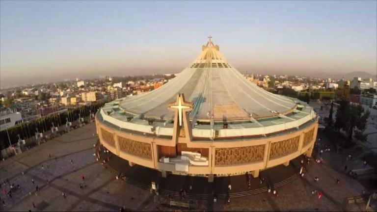 Basilica de Guadalupe na Cidade do México