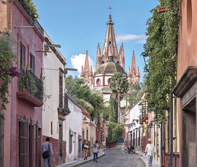 Cidades coloniais do México