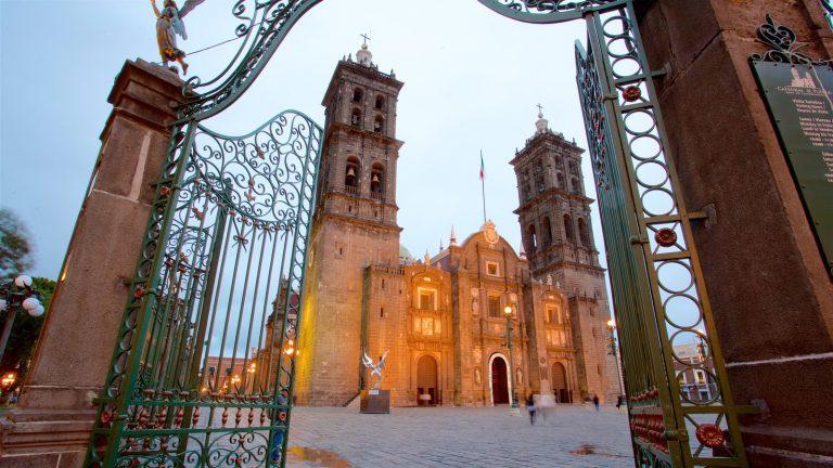 Onde fica Puebla
