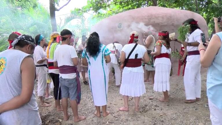 Temazcal na Riviera Maya