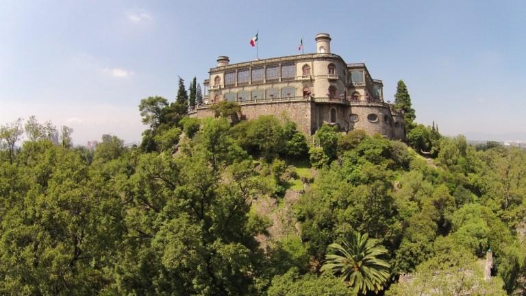 Como chegar ao Castillo de Chapultepec