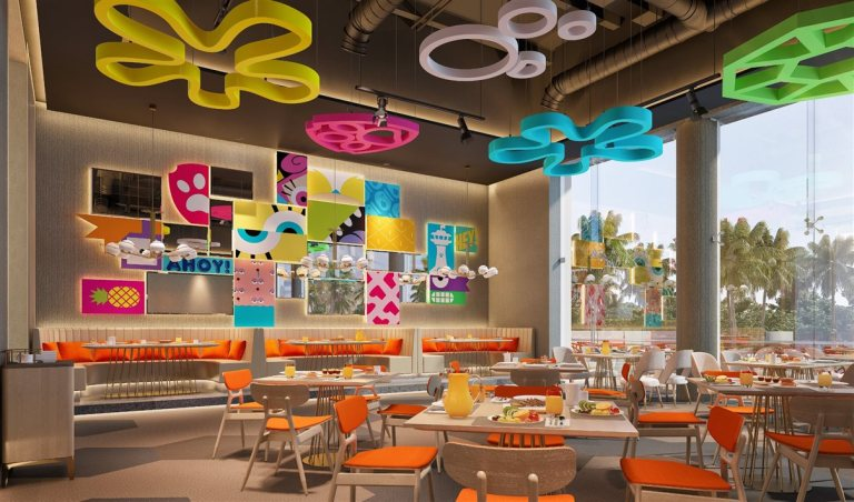 Restaurantes no Nickelodeon Hotel