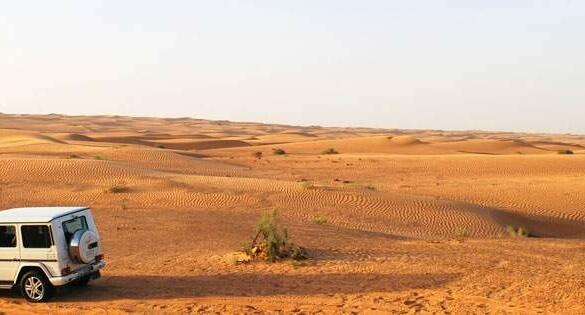 Safari no deserto em Dubai ou Abu Dhabi