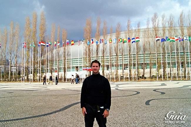 Parque das nações em Liisboa