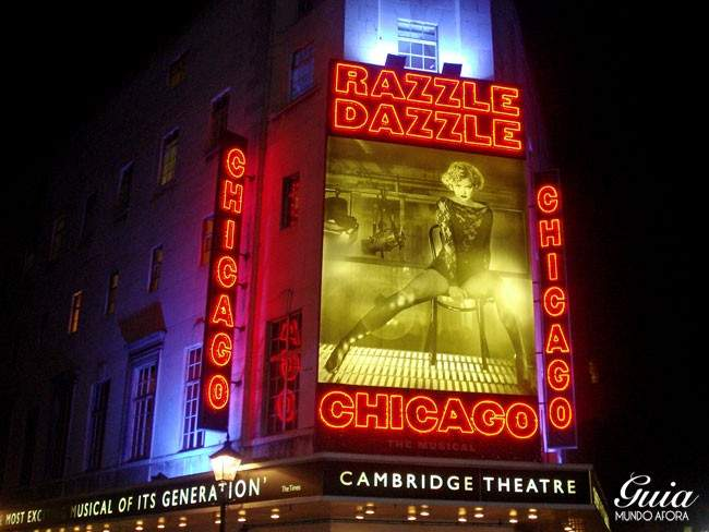 Musical Chicago em Londres
