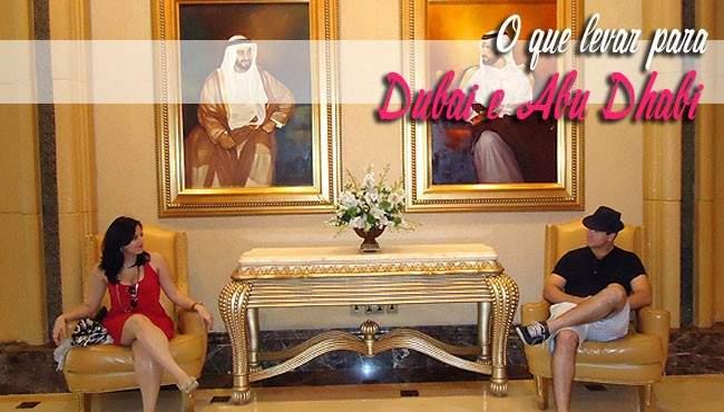 Mala para Dubai e Abu Dhabi