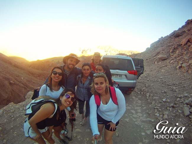 Passeio ao Trekking Cuchabrache Deserto do Atacama Chile