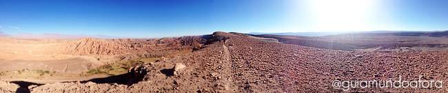 Panorâmica do Trekking Cuchabrache Deserto do Atacama Chile