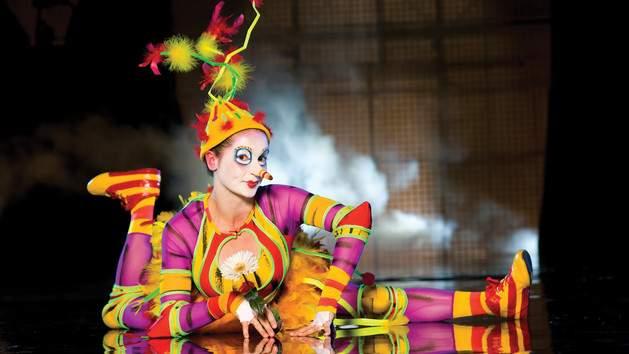 Palhaça do Cirque du Soleil La Nouba