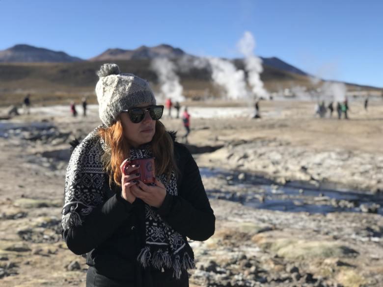 Temperatura dos Geyser del Tatio