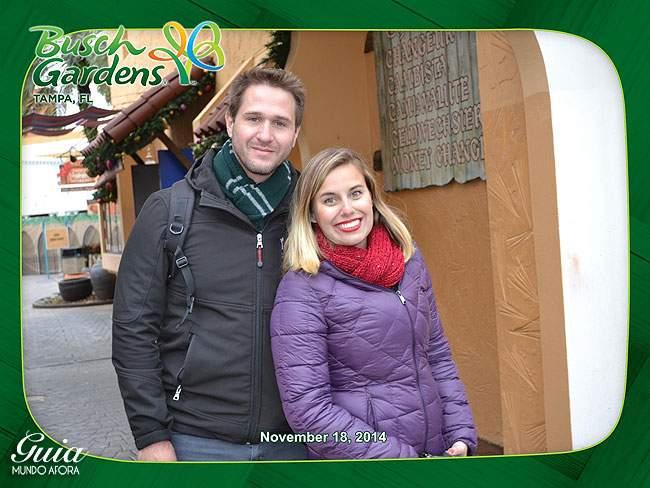 Fotógrafo oficial Busch Gardens