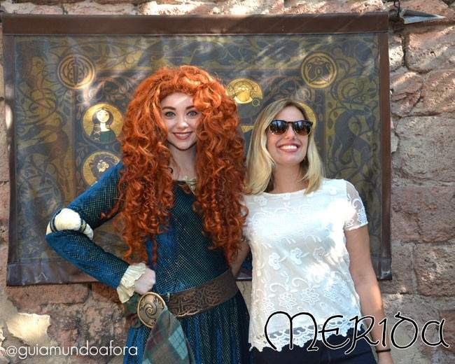 Merida no Magic Kingdom