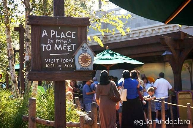 Conhecer Ursinho Pooh no Magic Kingdom