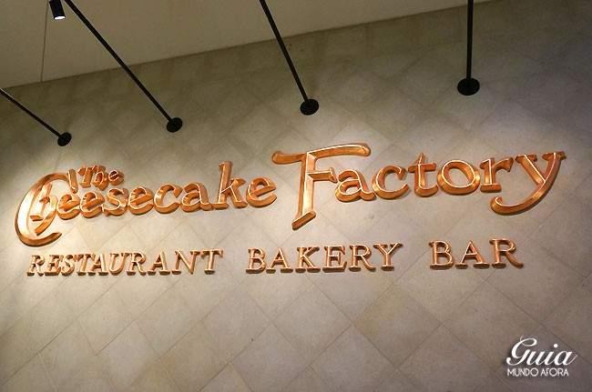 Fachada do Cheesecake Factory
