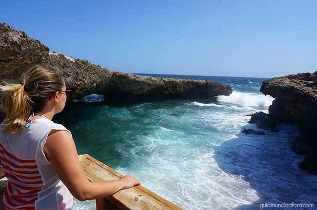 Passeio diferente em Curaçao