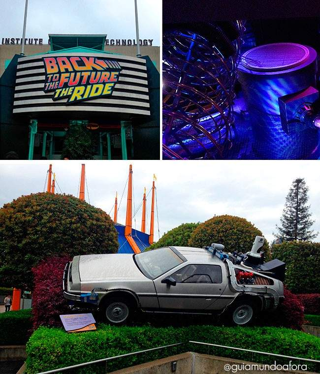 Back to the Future Universal Osaka