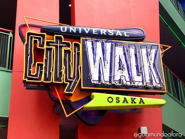 City Walk Universal Osaka