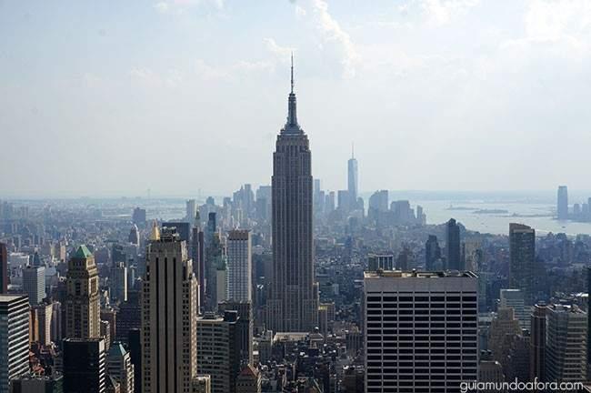 Empire State Building visto do Top of the Rock