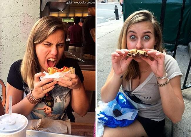 Comer em Nova York