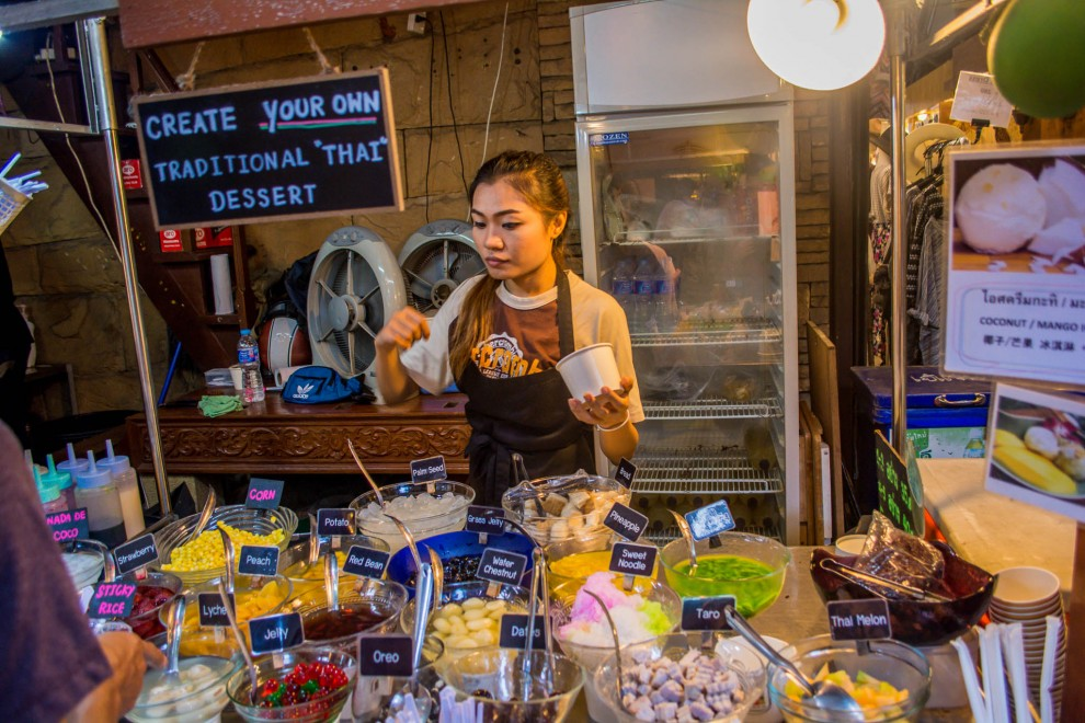 Mercado na Ásia