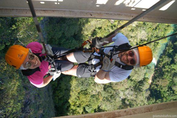 Rapel em Bonito e lindas cachoeiras no Boca da Onça!