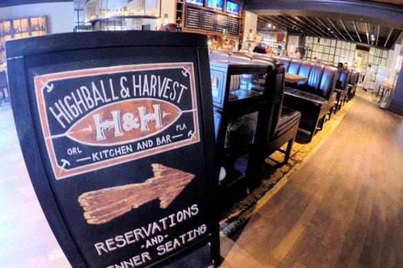 Highball and Harvest: restaurante top em Orlando