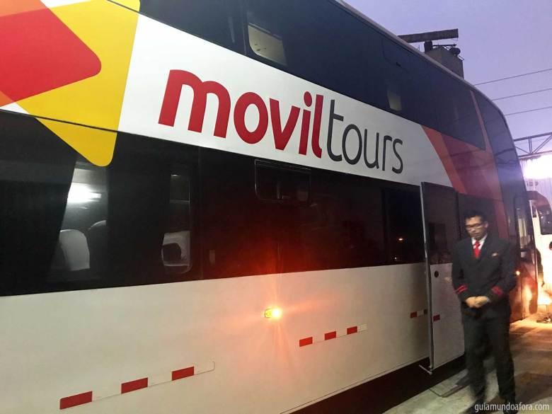 movil tours ônibus para Huaraz