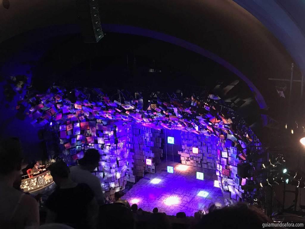 Matilda musical em Londres