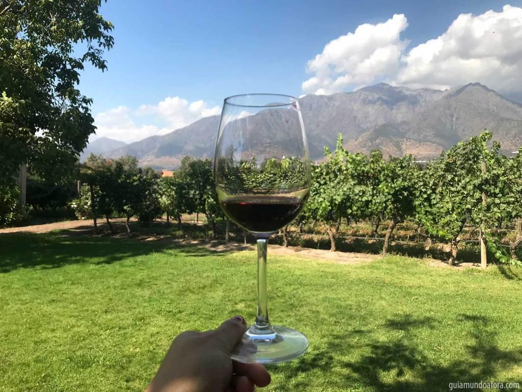 vinícola em Santiago