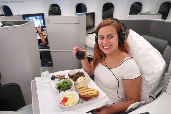 Classe executiva da Air Canada para o Japão – Como é o avião?
