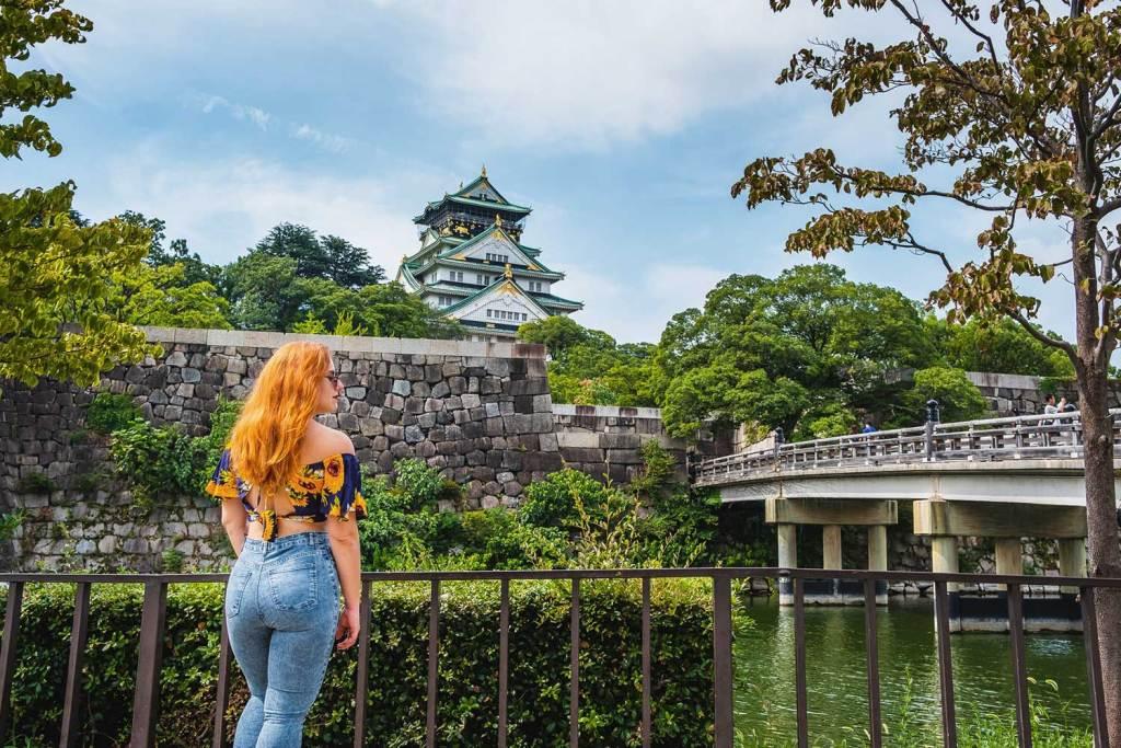 cidades no Japão Osaka