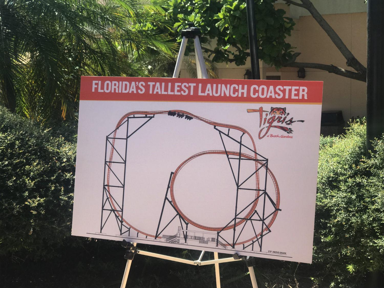 Tigris é a nova montanha-russa do busch Gardens Tampa