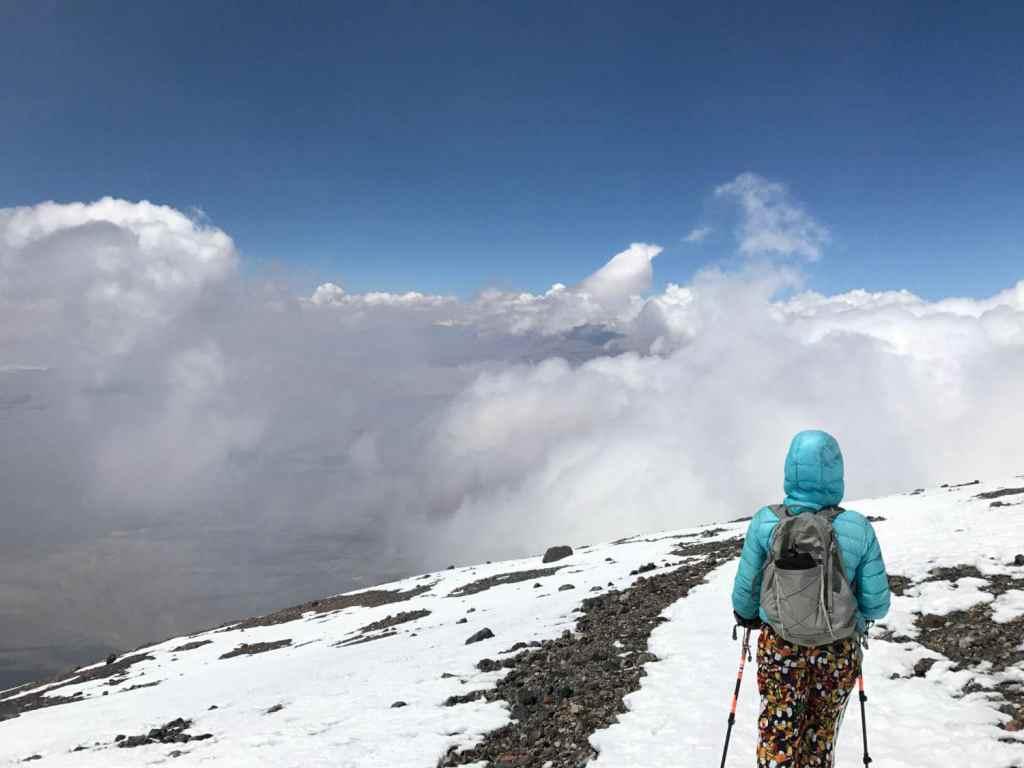 Subida ao vulcão Lascar no Atacama