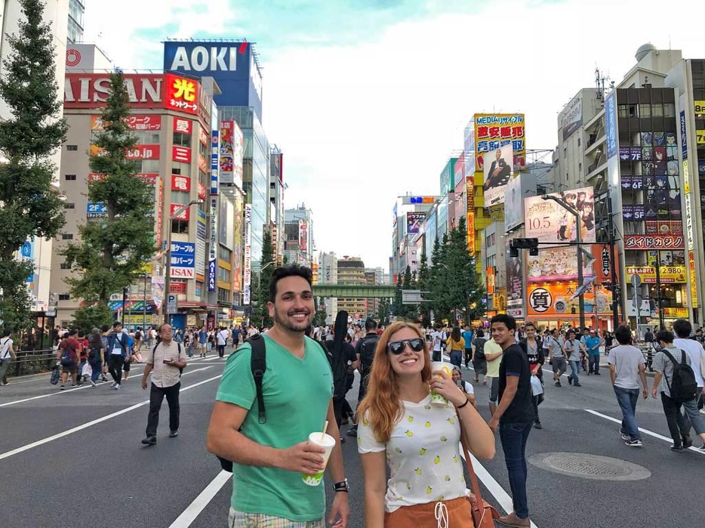 mapa do Japão cidades Tokyo