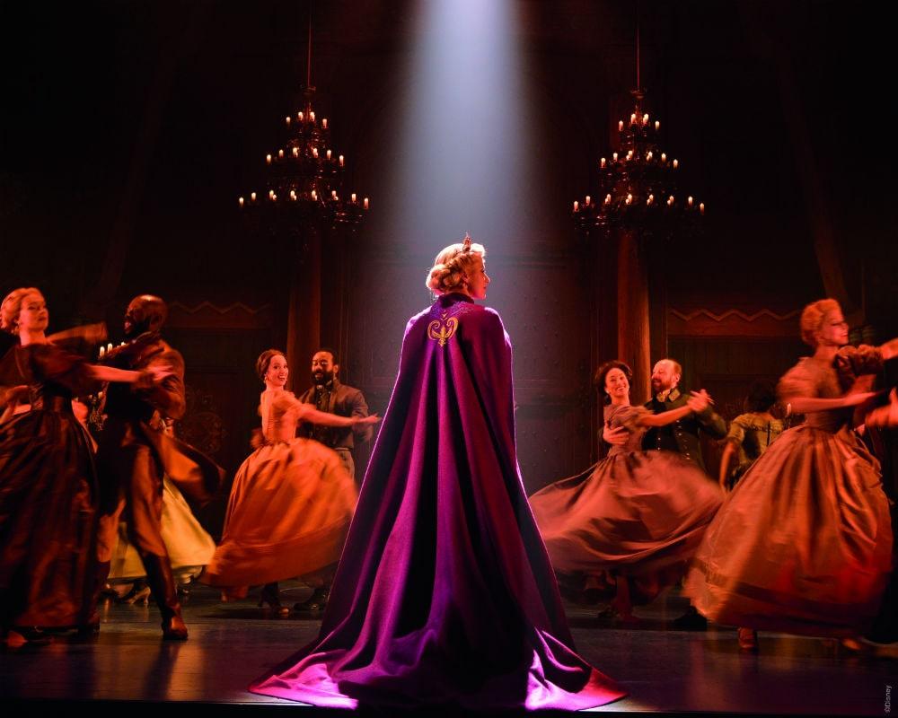 Cena de Frozen da Broadway