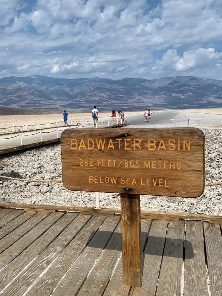 Badwater Basin no Death Valley