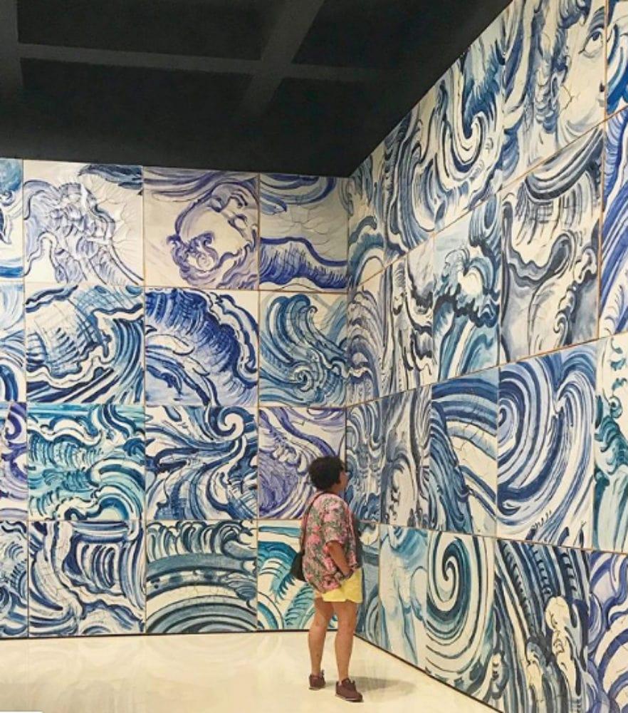 Obra Adriana Varejão em Inhotim