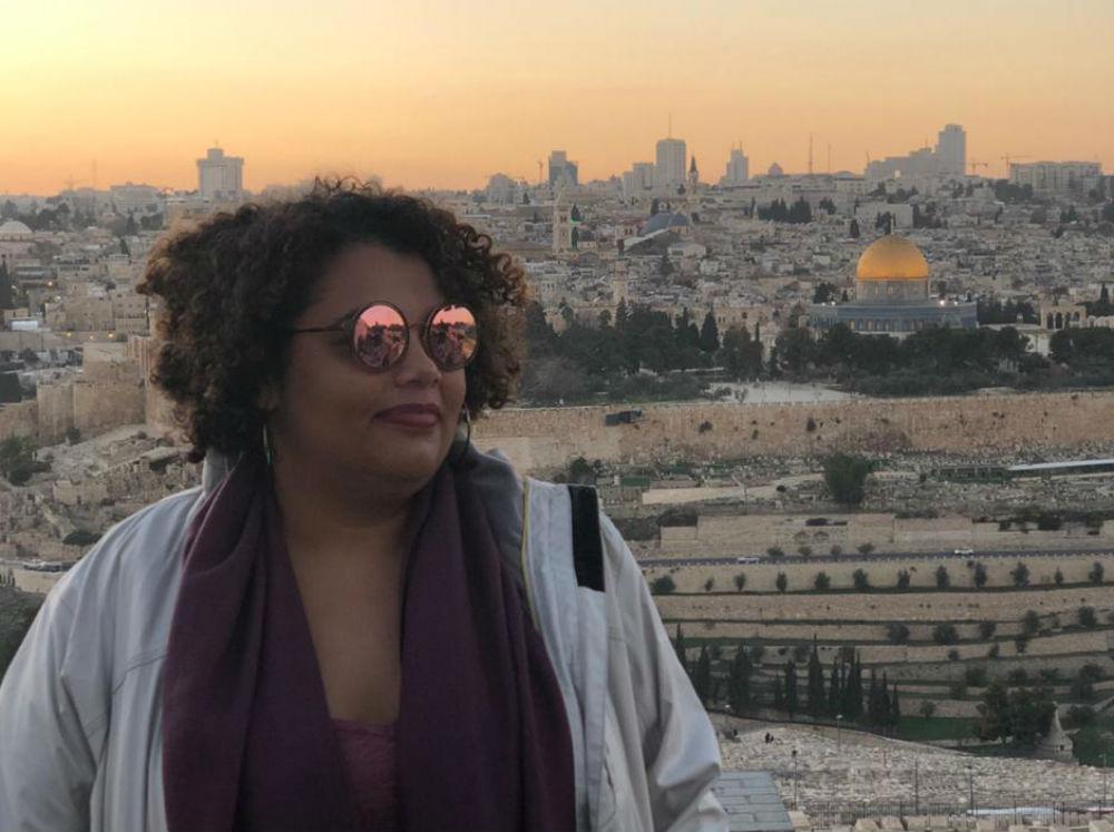 Vista da cidade antiga de Jerusalem