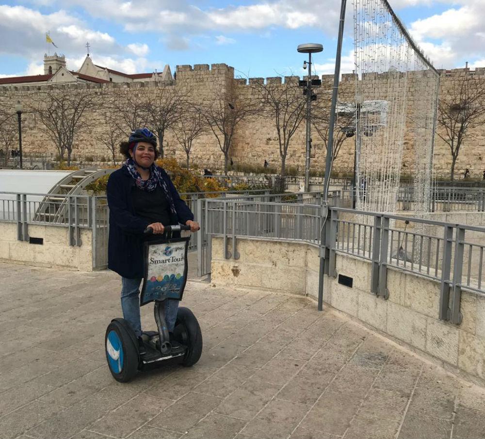 segway em Jerusalem