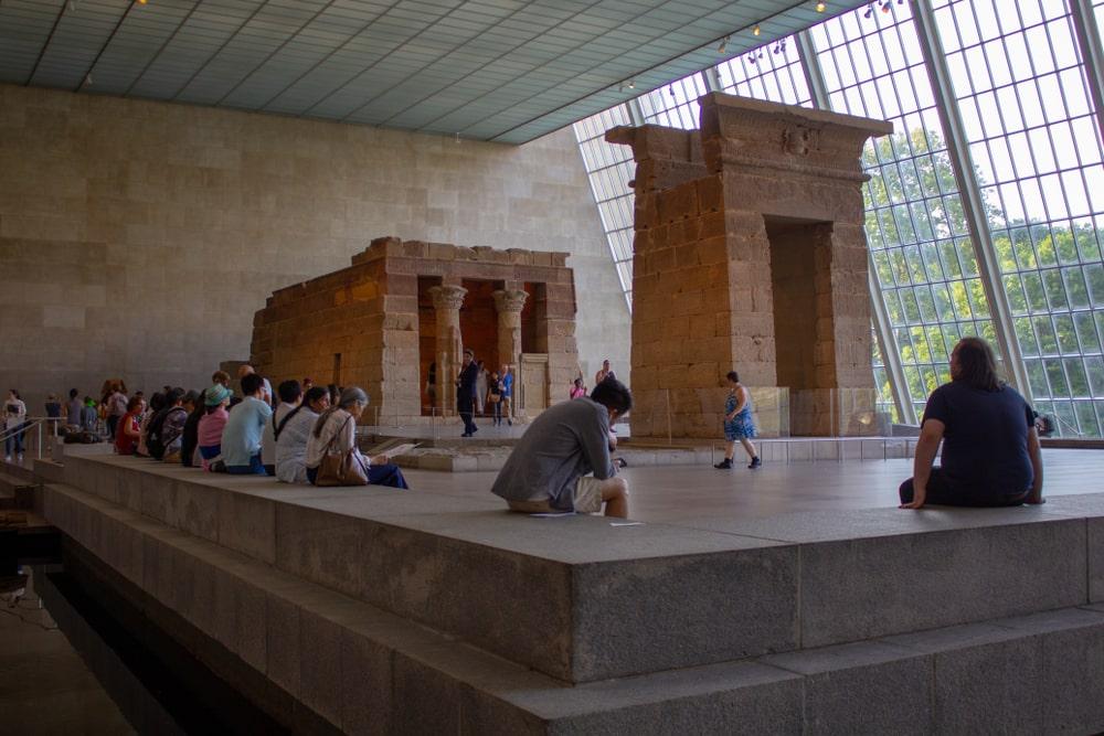 MET, Templo de Dendur, atrações Nova York