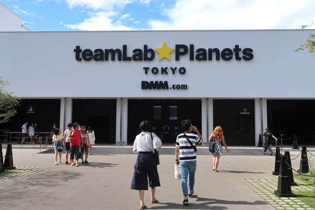 Teamlab Planets