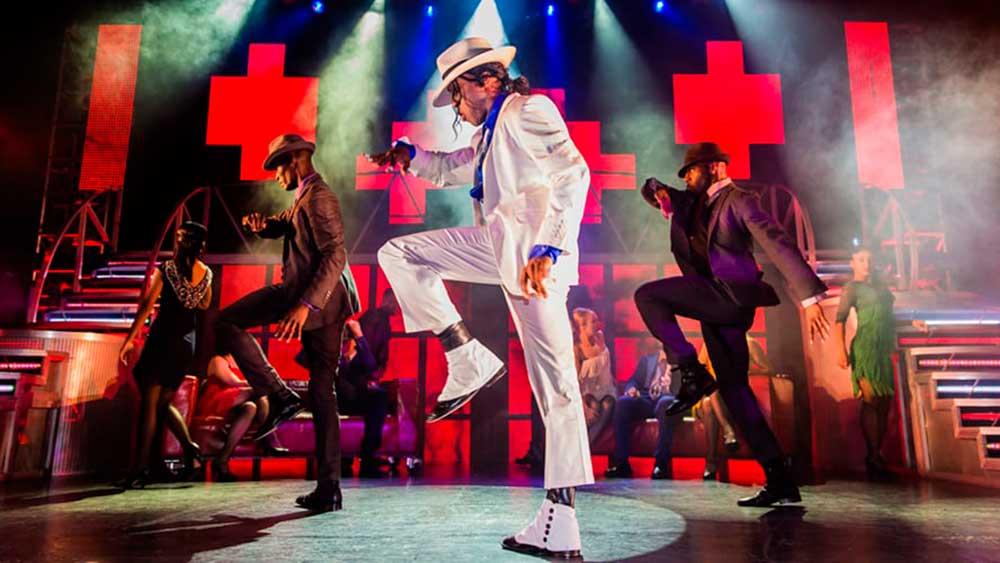 coreografia musical Michael Jackson em Londres