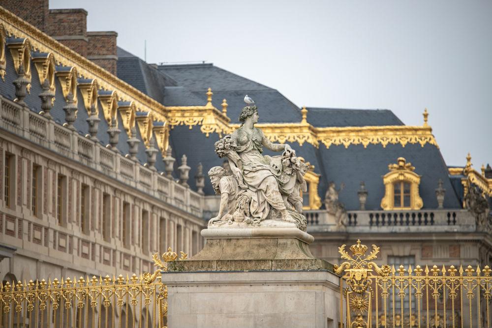 detalhe palácio de Versalhes