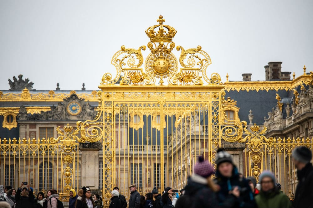 portões palácio de Versalhes