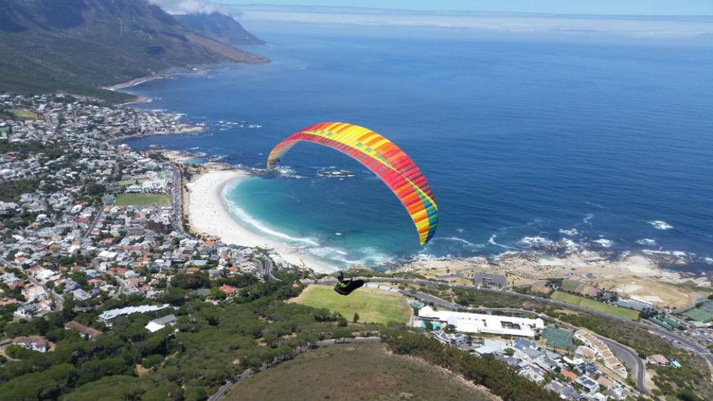 parapente em Capetown