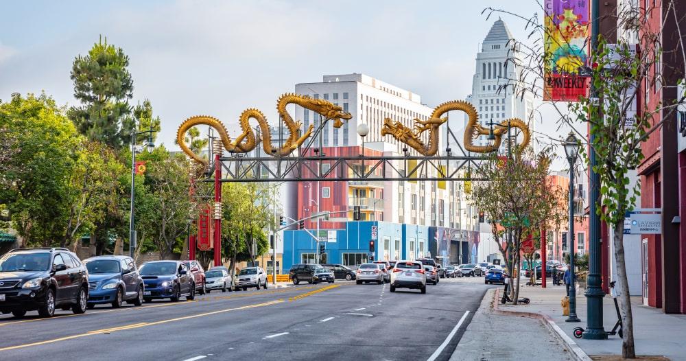 Chinatown Los Angeles dirigir