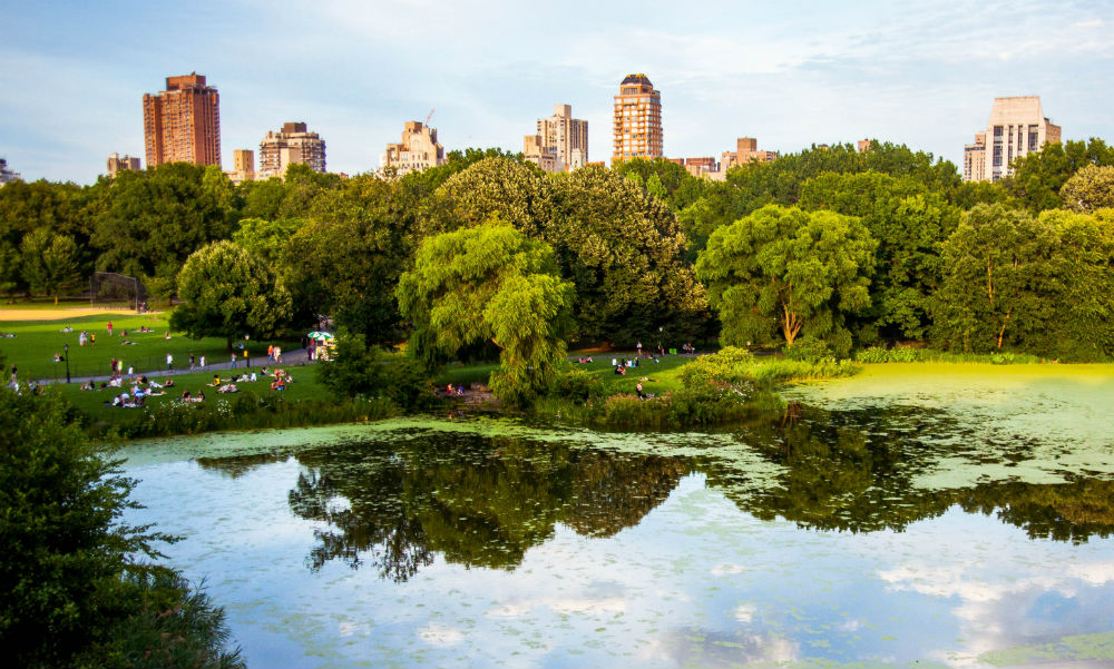 Central Park cenários de filmes